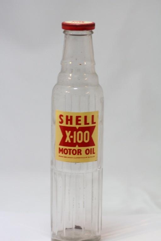 SHELL X-100 MOTOR OIL F