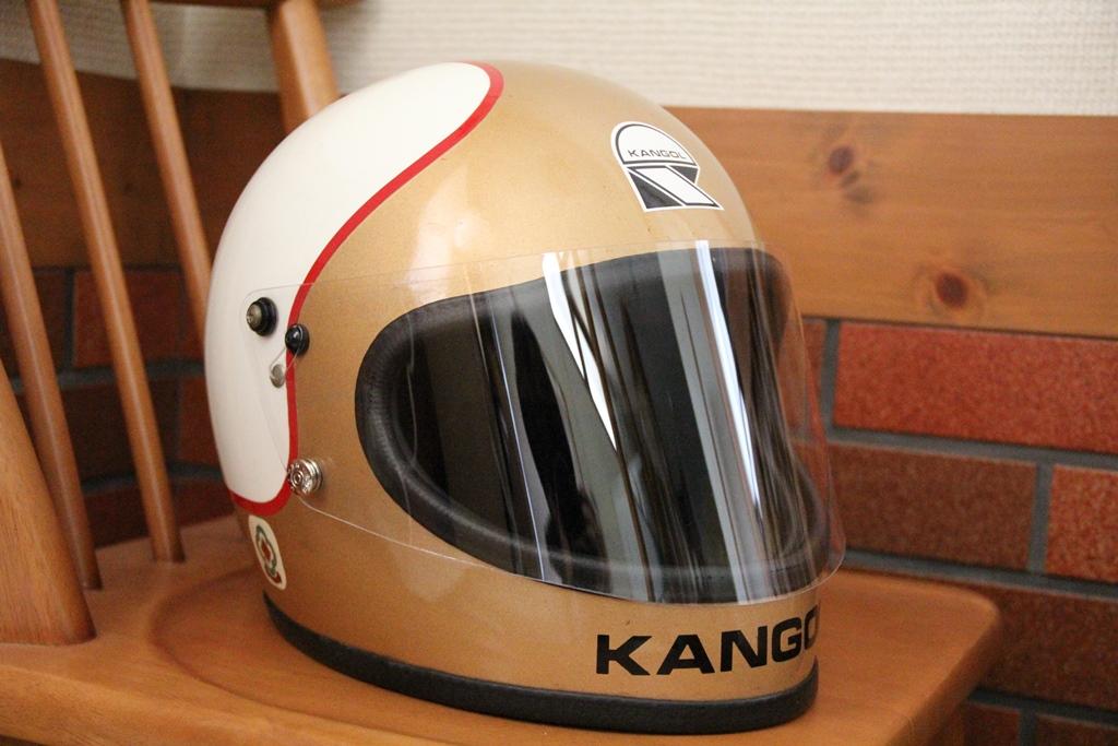 Kangol Mike Hailwood helmet