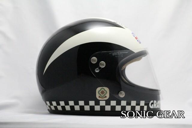 フィル・リード カンゴール製レプリカヘルメット